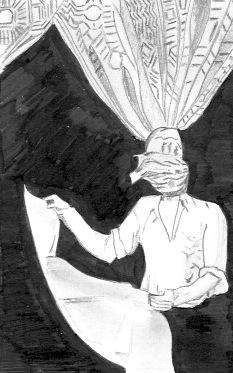 """copie d'un cliché d'Henri Cartier-Bresson. """"Livourne, Toscane, Italie, 1933"""", Epreuve gélation-argentique, tirage de 1979, 35,5x24cm. Exemple de """"magique-circonstancielle"""""""