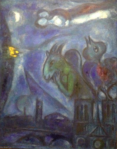 Marc Chagall, Le Monstre de Notre-Dame, 1953