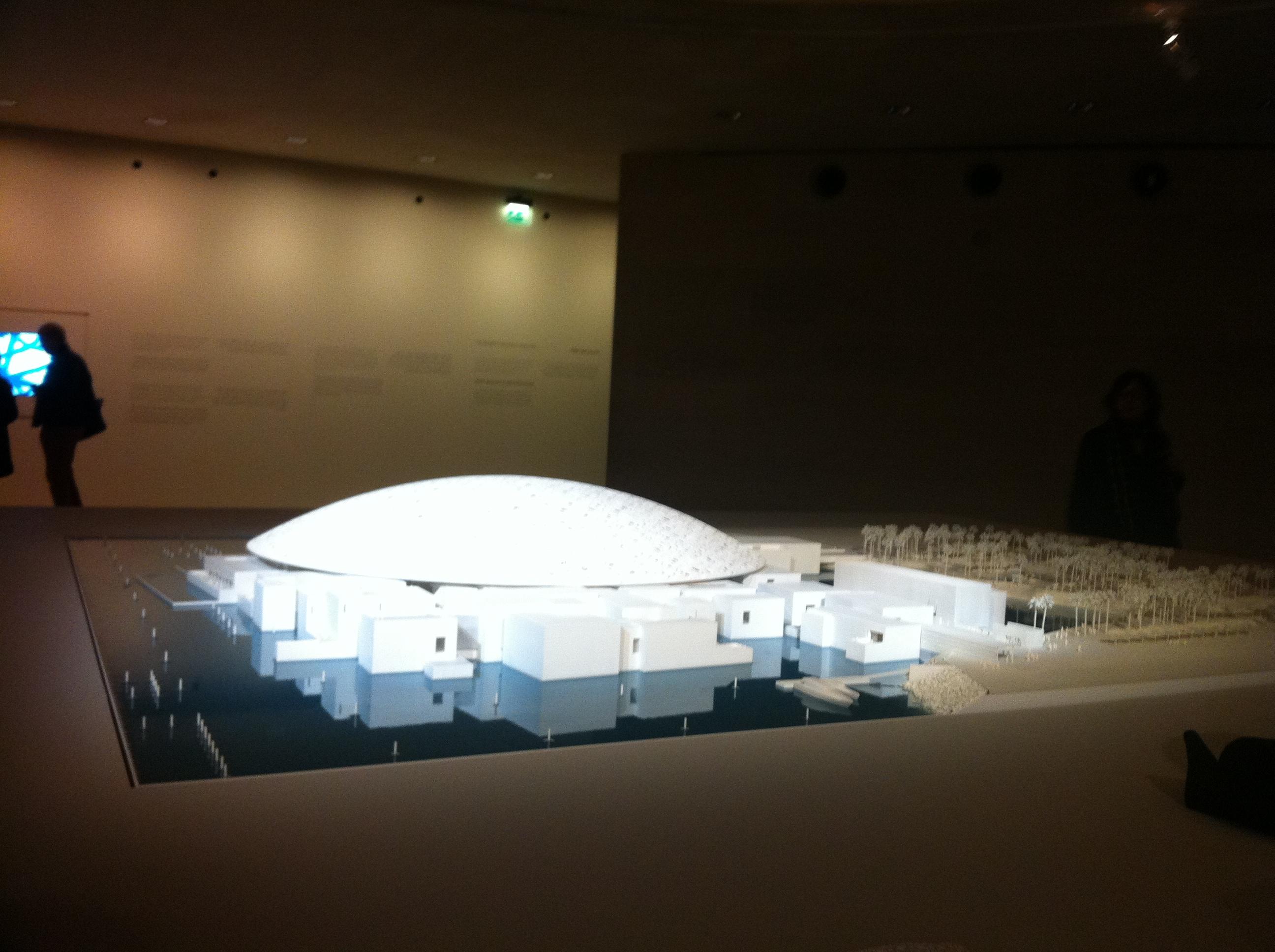 Voici la reproduction des 6000 m2 conçus par l'architecte français Jean Nouvel.