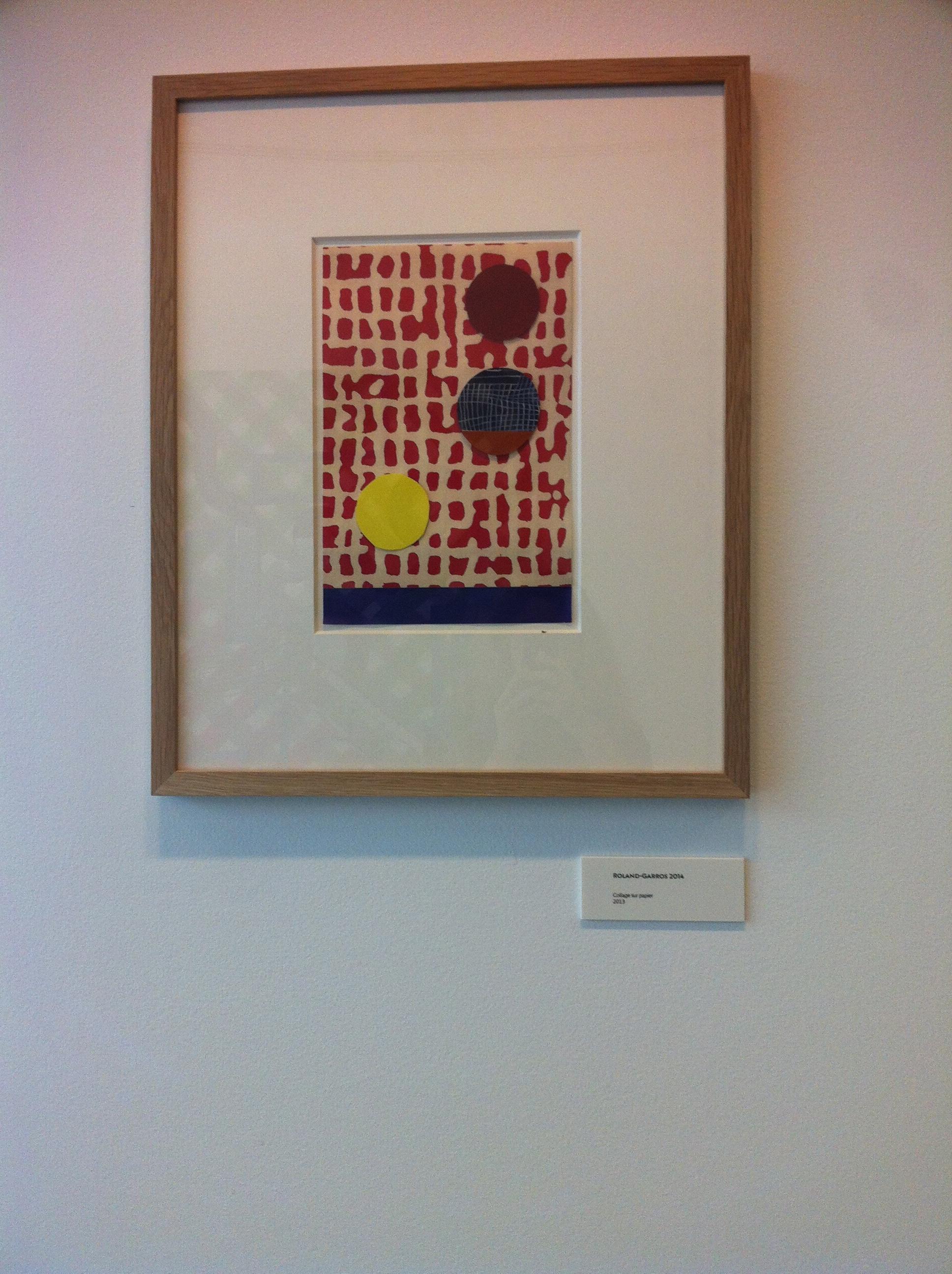 Version officielle avalisée par la FFT. © Joan Miro - Galerie Juan Uslé 2014.