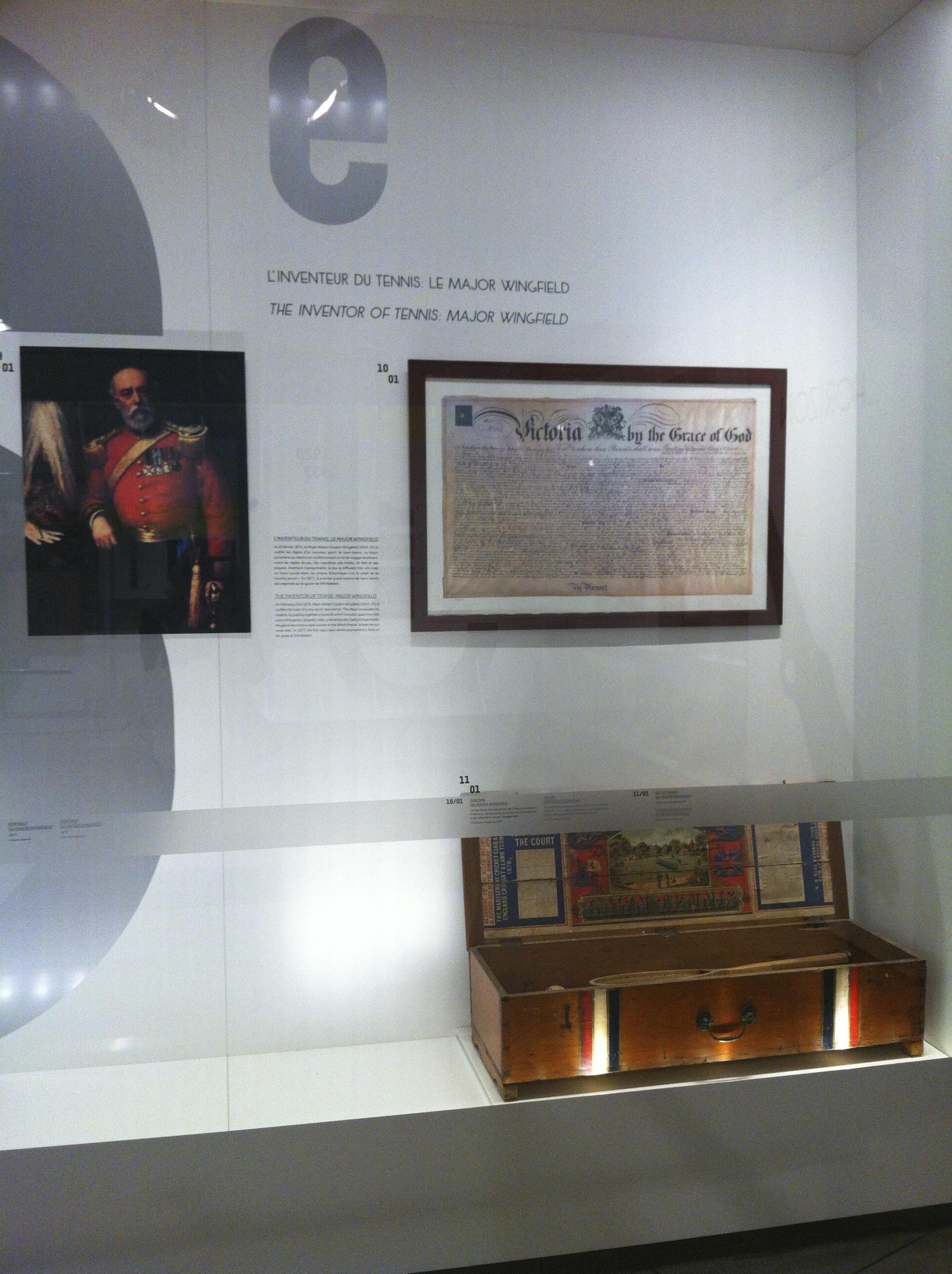 En 1415, le duc d'Orléans est emprisonné pendant deux décennies en Angleterre, où il introduit le jeu de paume. Quatre siècles plus tard, le descendant du chatelain des lieux, Walter Clopton Wingfield, adapte ce sport sur herbe. Ainsi naît le tennis, baptisé Lawn Tennis (tennis sur gazon) par les Anglais, tandis que le jeu de paume prend le nom de Real Tennis (vrai tennis).