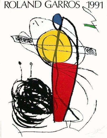 © Joan Miro - Galerie Lelong-FFT 1991
