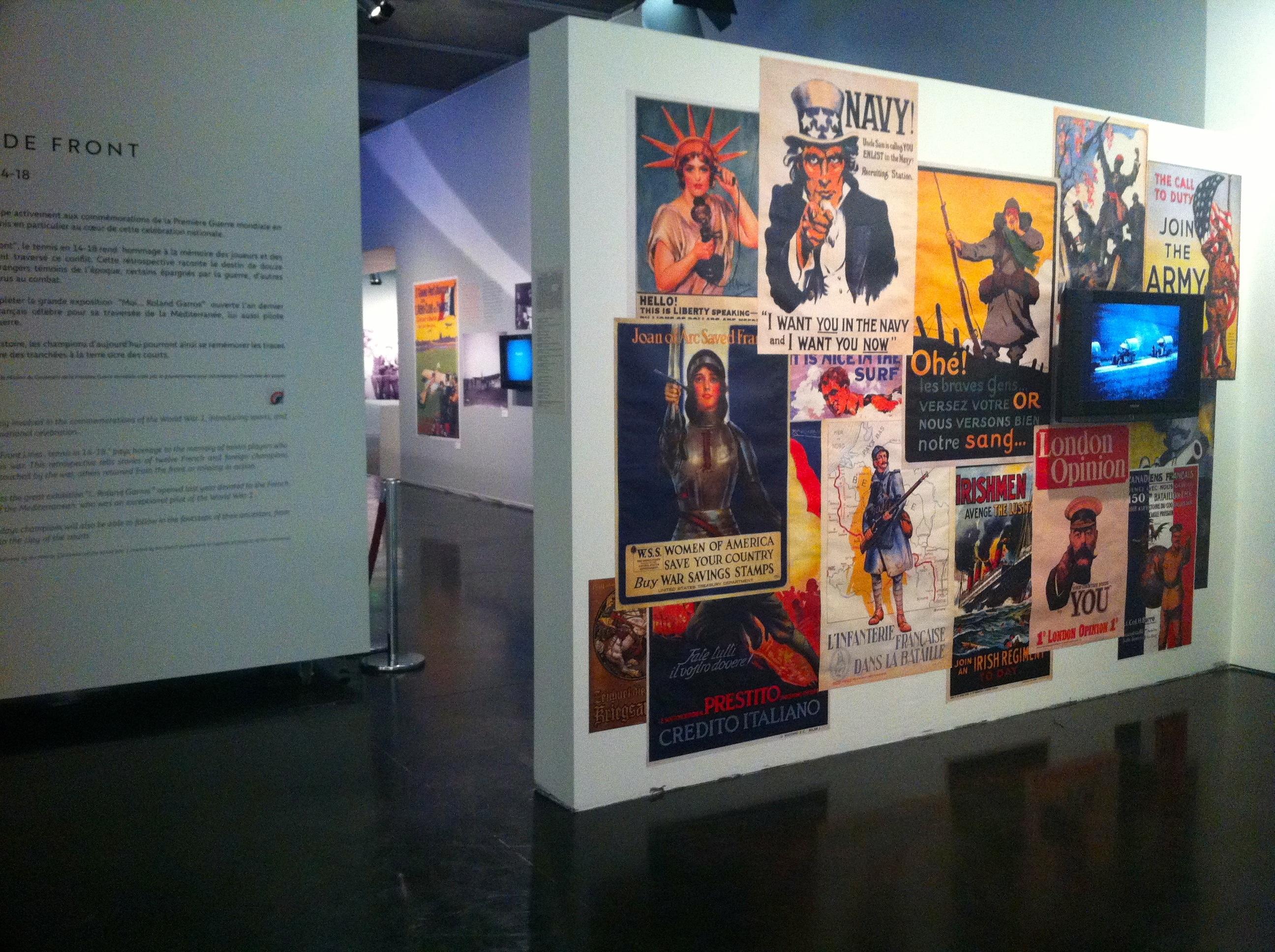 Quelques affiches pour rappeler le contexte politique de 1914.