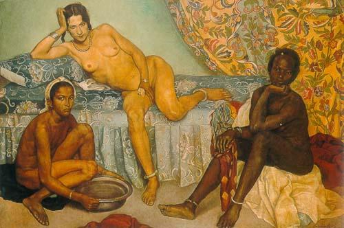 Grâce à son mécène, Antoine de La Rochefoucauld, Bernard part en 1893 en Égypte pour finalement y séjourner dix ans et se marier.
