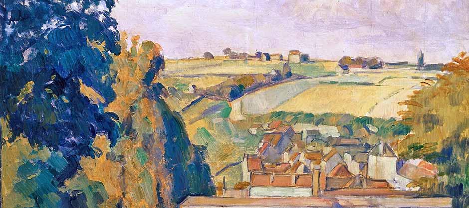 À son retour d'Égypte, en 1904, il rencontre Cézanne à Aix-en-Provence...