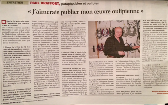 JOURNAUX-Paul Braffort