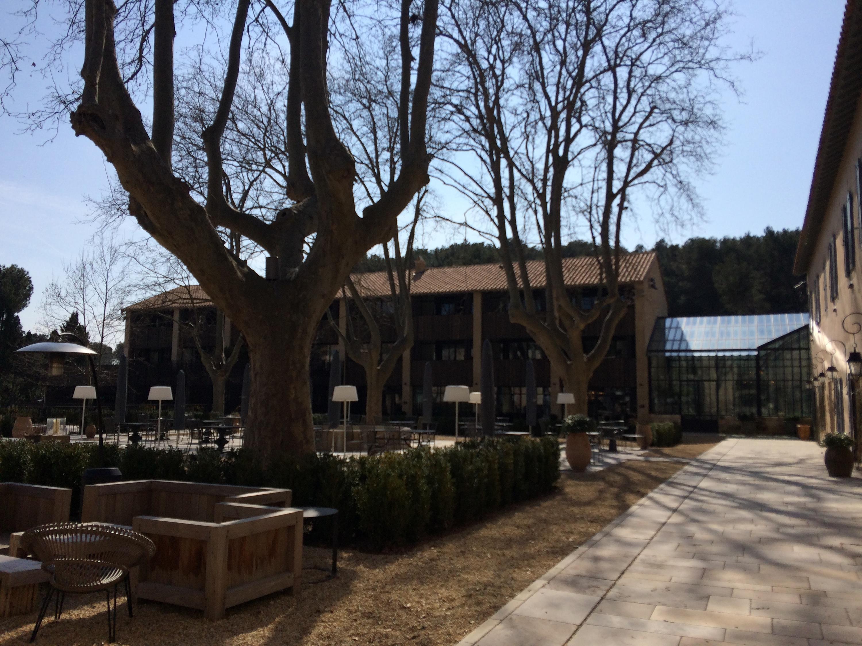 Pause déjeuner dans ce merveilleux hôtel de luxe, ouvert au printemps 2014.