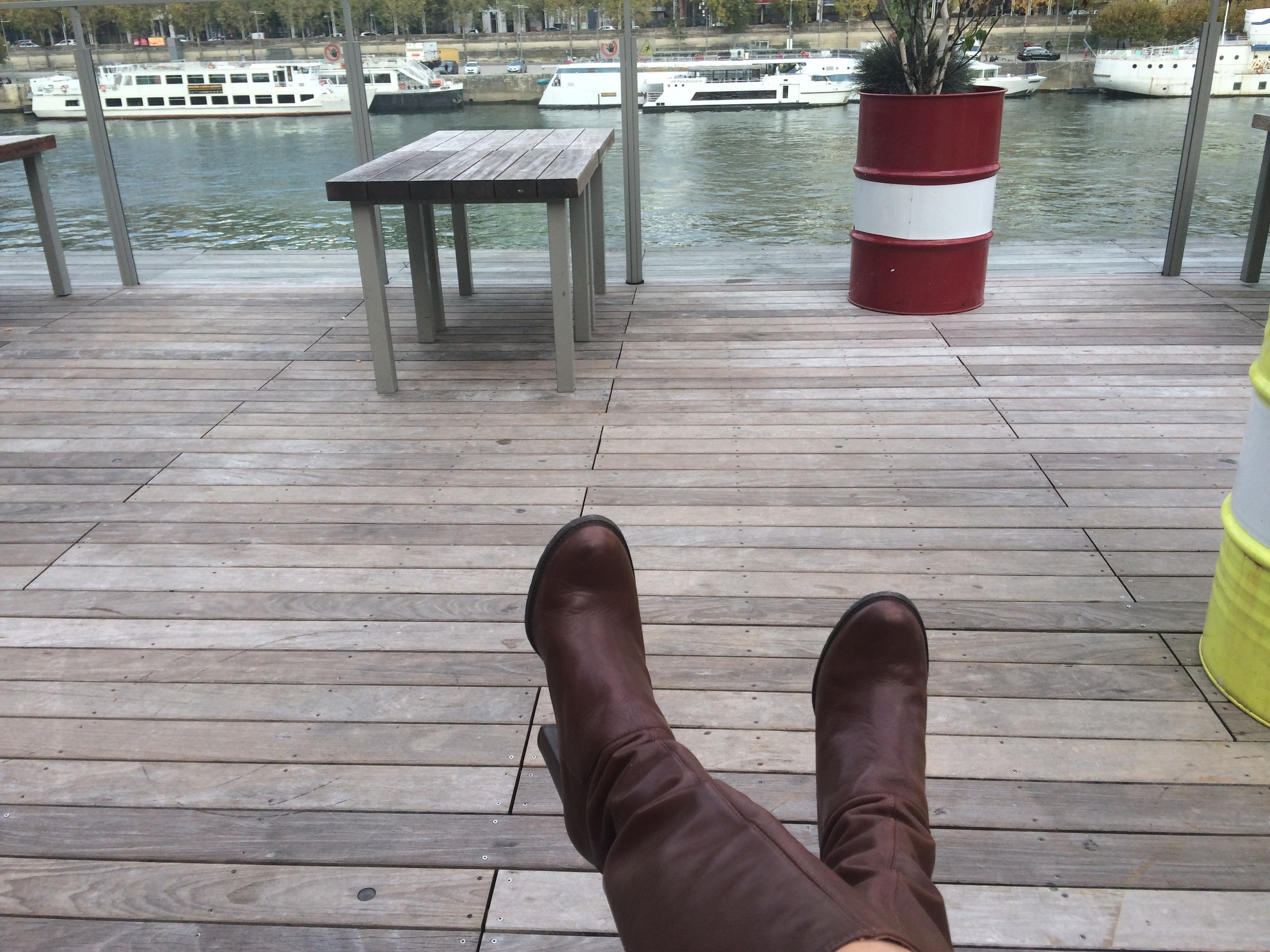 These boots are NOT made for walking ! :)
