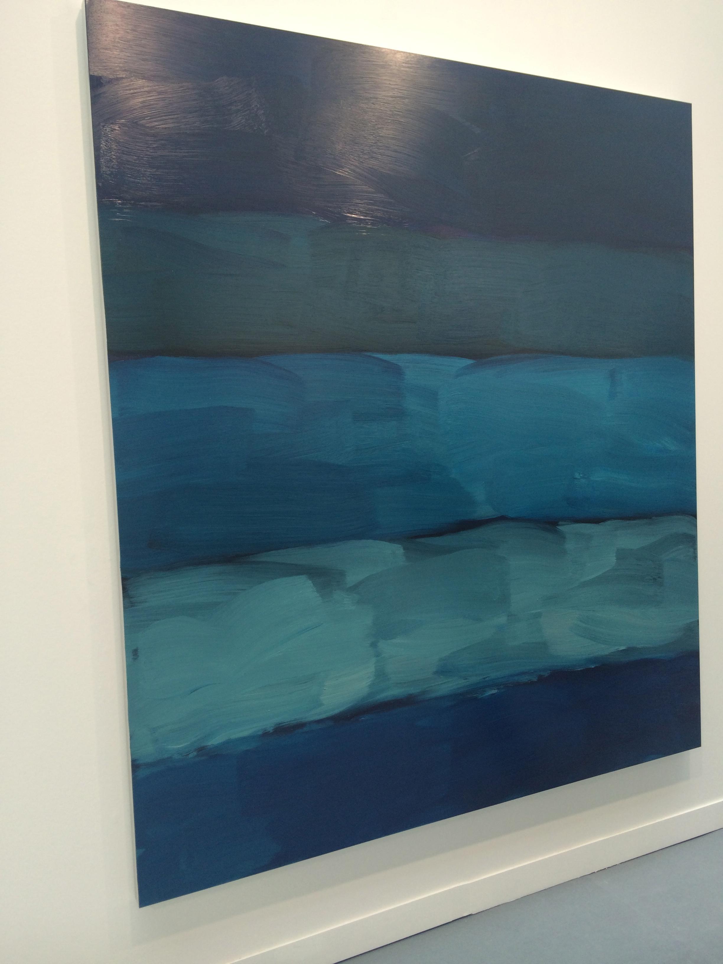 "Sean Scully, ""Landline Two Blues"", 2014"