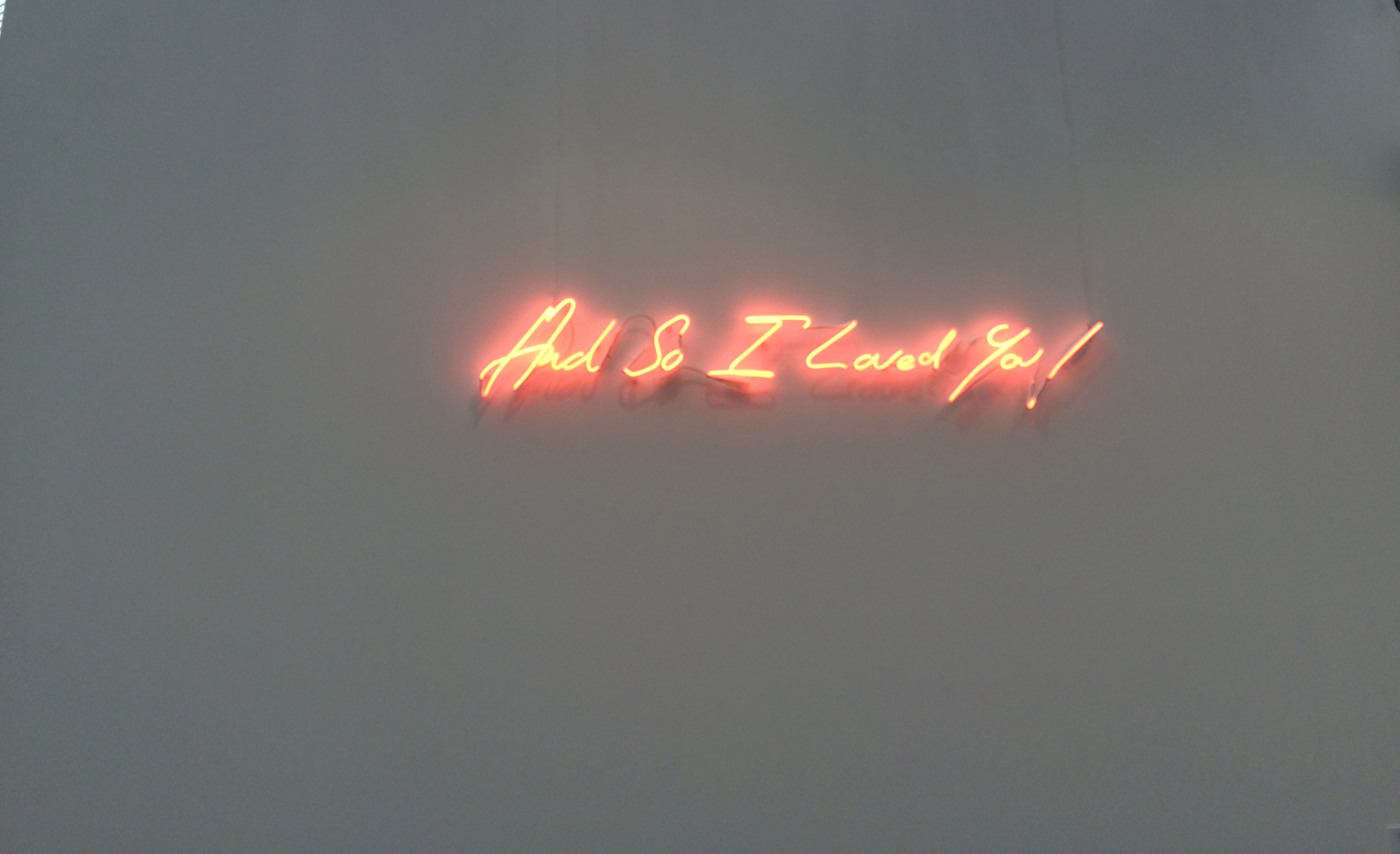 """Tracey Emin, """"And So I Loved You!"""", 2015"""