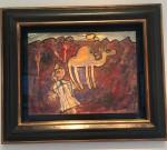 Jean Dubuffet, Bédouin et son chameau, 1947-48
