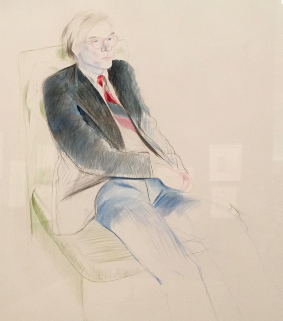 Andy by Hockney